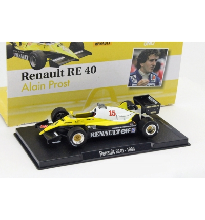 Renault RE40 #15 A.Prost 1983