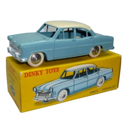 Simca Versailles (light blue, white) - Dinky by Atlas