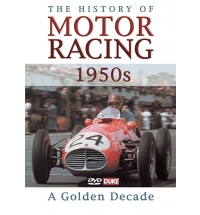 HISTORY OF MOTOR RACING 1950s DVD