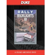 Portuguese Rally 1989 Duke Archive DVD
