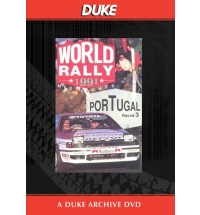 Portuguese Rally 1991 Duke Archive DVD